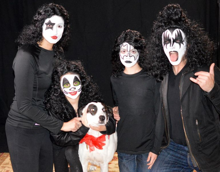 KISS Family Face Painting
